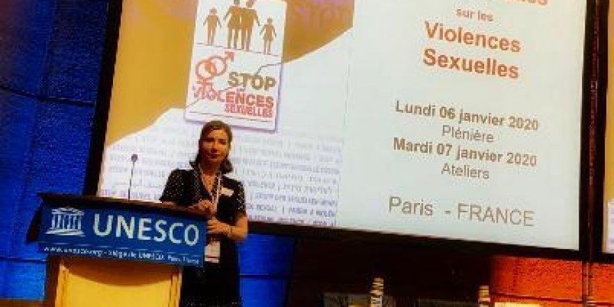 AVAZTÜRK Londra temsilcimiz Sheni Hamid Unesco'da Türkiye'yi temsil etti