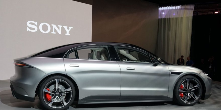 Sony'den elektrikli otomobil sürprizi!