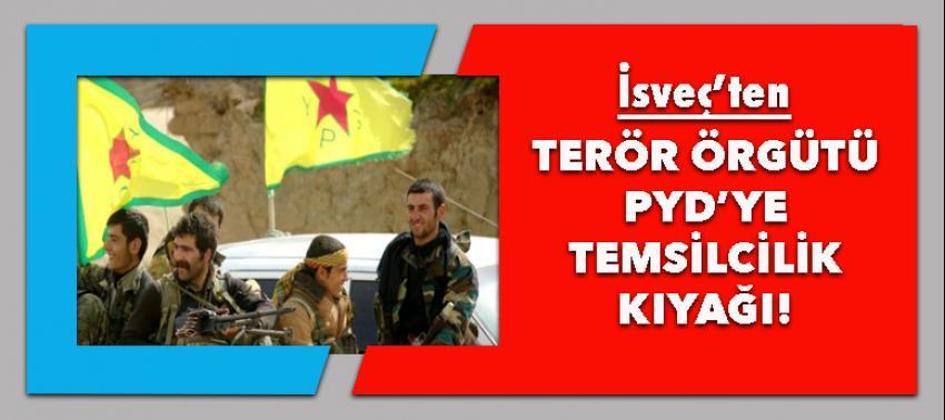 İsveç'ten terör örgütü PYD'ye temsilcilik kıyağı!