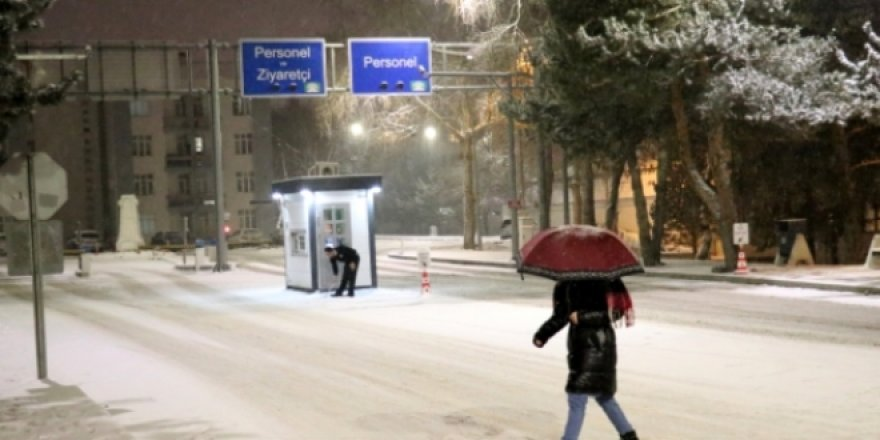 Doğu'daki 4 ilde kar yağışı etkili oldu