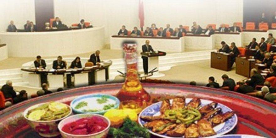 Meclis'e beslenme önerisi: İdeal öğün 6 değil 2
