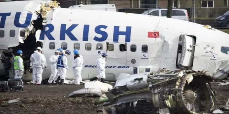 THY'nin Hollanda'daki uçak kazasında skandal gerçek ortaya çıktı