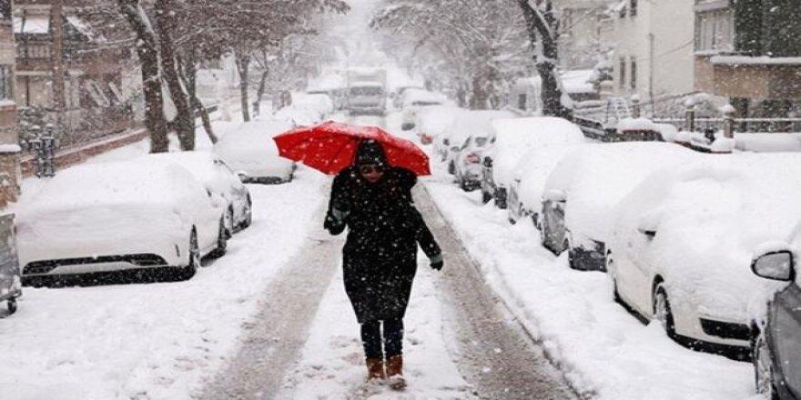 Deprem bölgesine uyarı: Kar geliyor!