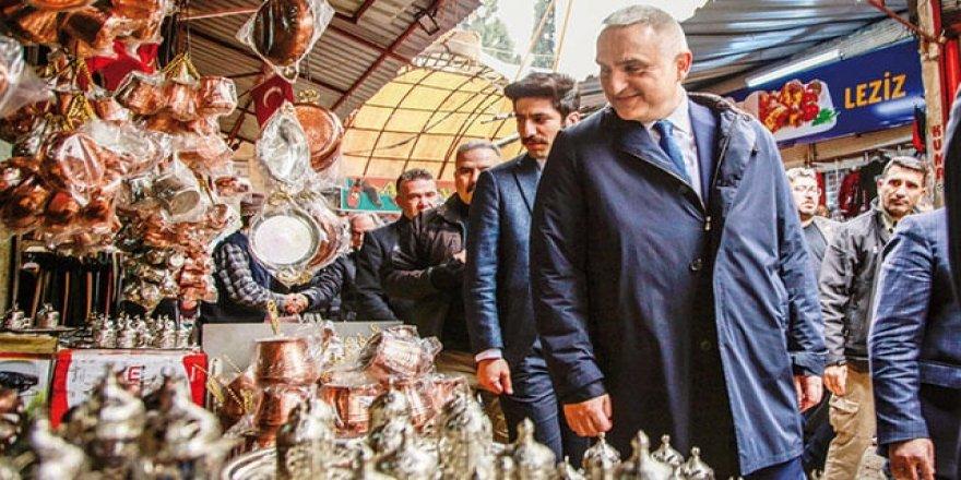 Bakan Ersoy'dan Kanal Çeşme açıklaması