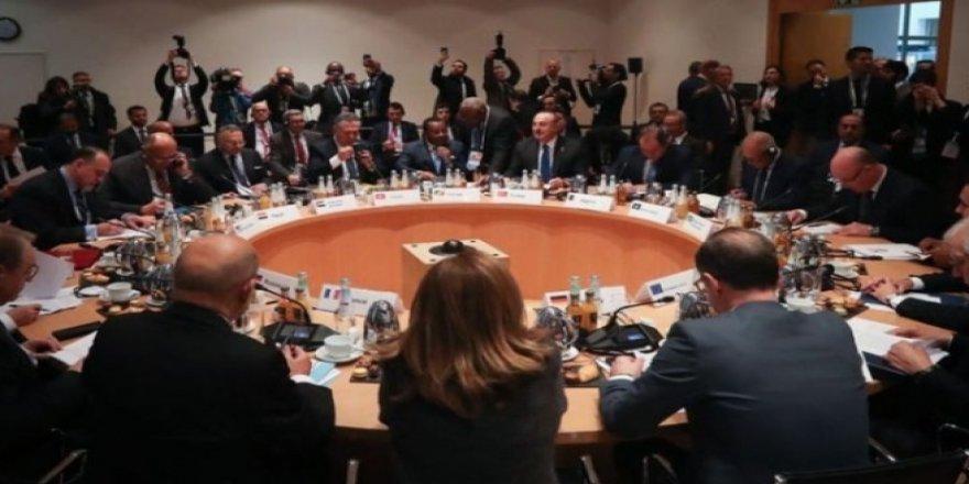 Kritik Libya toplantısı sonrası flaş açıklama