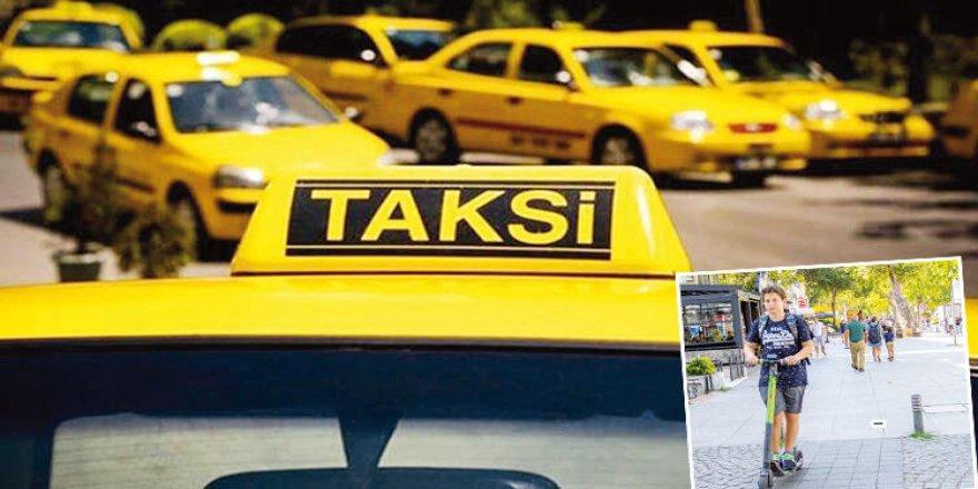 Ulaşımda yeni tartışma! Taksi-Martı kavgası