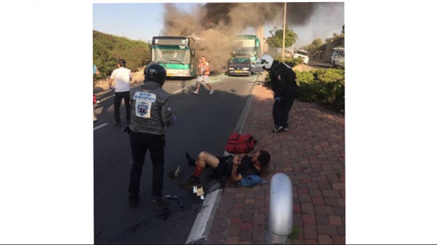 Kudüs'te bombalı saldırı!