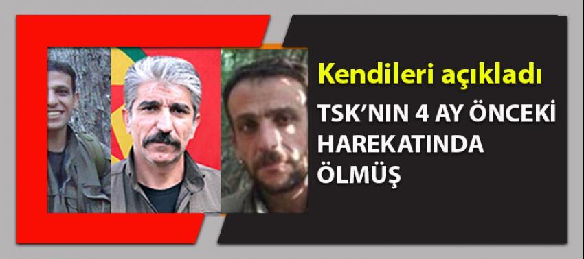 PKK o elebaşının öldüğünü 4 ay sonra açıkladı