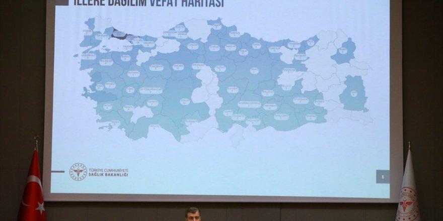 Türkiye'de illere göre vaka ve ölü sayısı dağılımı belli oldu