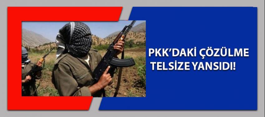 PKK'daki çözülme telsiz konuşmalarına yansıdı