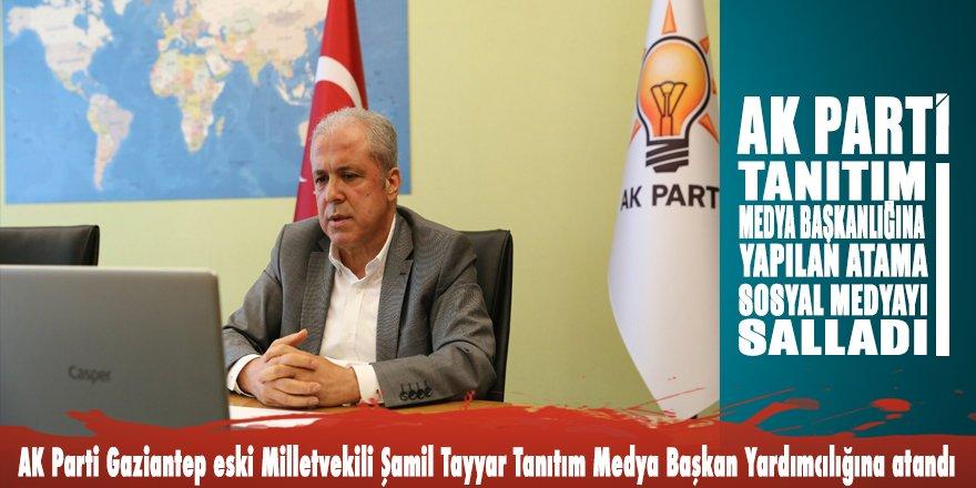 AK Parti Tanıtım Medya Başkanlığına yapılan atama sosyal medyayı salladı