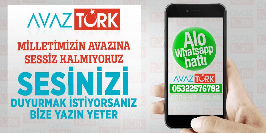 AVAZTÜRK WhatsApp'ta...