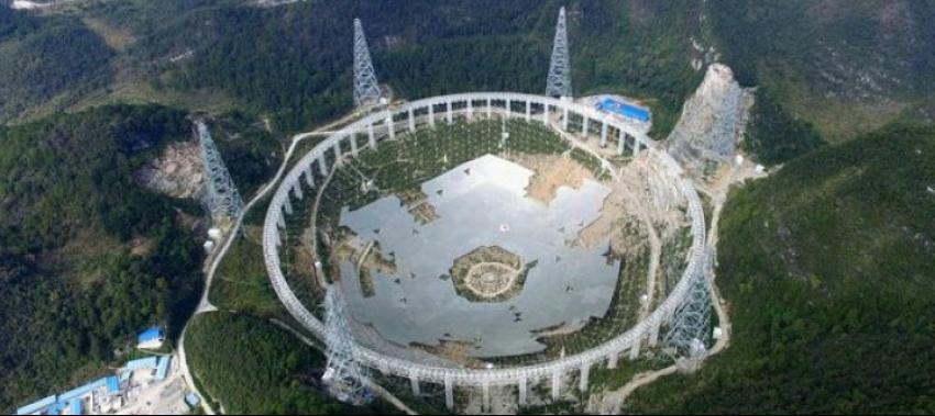 Dünyanın en büyük teleskobunu inşa ettiler