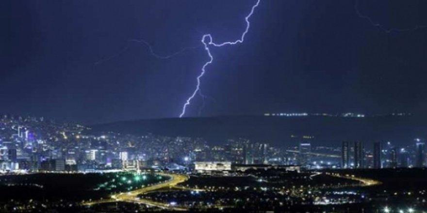Meteorolojiden Ankara için kuvvetli rüzgar ve fırtına uyarısı