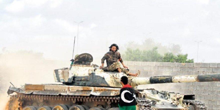 Libya Ordusu, Hamza Askeri Kampının tamamında kontrolü sağladı