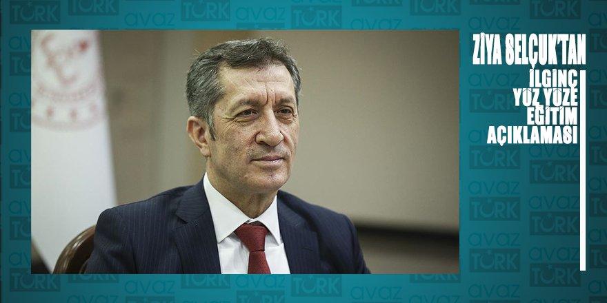 """Milli Eğitim Bakanı Selçuk'tan ilginç 'yüz yüze eğitim"""" açıklaması"""