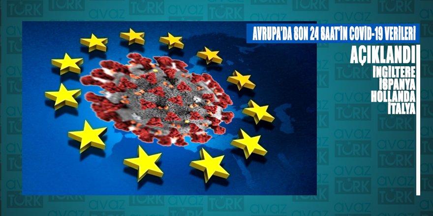Avrupa'da son 24 saatlik Covid-19 verileri şaşırttı