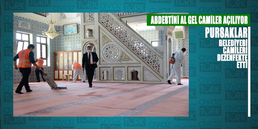 Pursaklar Belediyesi: 'Abdestini al gel Camiler açılıyor