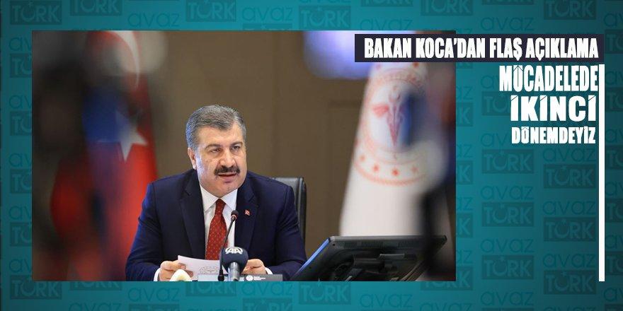 Sağlık Bakanı Koca'dan 20 yaş altı ve 65 ve üstü yaş için önemli açıklama