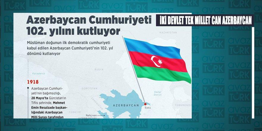 Azerbaycan 102'nci Bağımsızlık yılını kutluyor