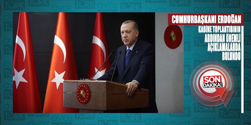 Cumhurbaşkanı Erdoğan seyahat sınırlamasının 1 Haziran'dan itibaren tamamıyla kaldırıldığını duyurdu