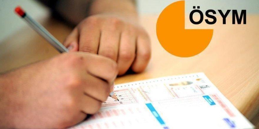 ÖSYM sınav merkezi değişiklik taleplerini alınacak