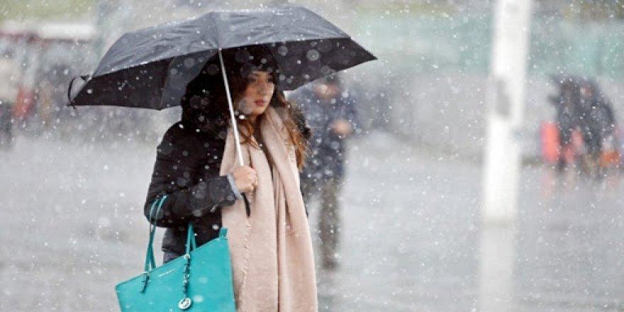 Meteoroloji Genel Müdürlüğü'nden sağanak yağış uyarısı