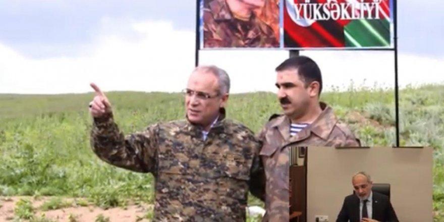 Cumhurbaşkanı Başdanışmanı Topçu Karabag Gazisi İbad Hüseyinli'yi unutmadı