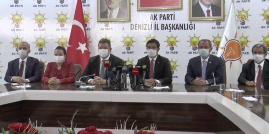 AK Partili Av. Cahit Özkan, salgın süreci ve büyüme oranını değerlendirdi