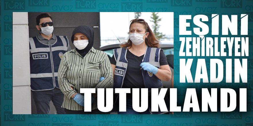 Manisa'da 1 yıl önce eşini zehirleyerek öldürdüğü iddia edilen kadın tutuklandı