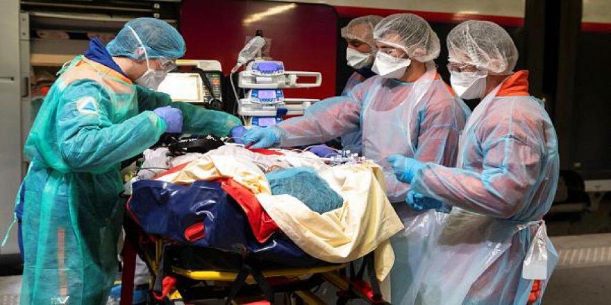 Fransa'da son 24 saatti Kovid-19'dan 57 kişi ölürken bu rakam toplamda 28 bin 771 oldu