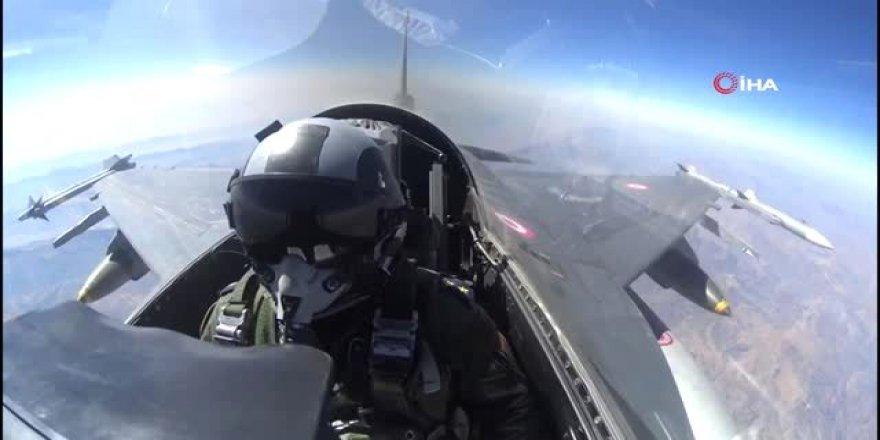 Irak'ın kuzeyine yönelik hava harekatında 3 PKK'lı terörist etkisizleştirildi
