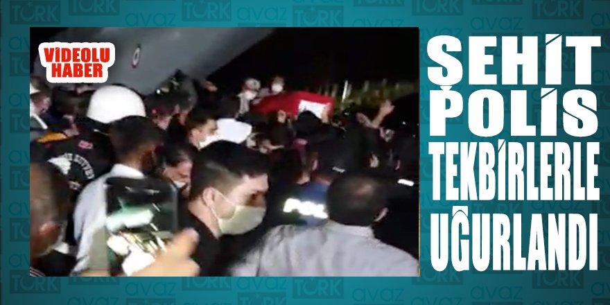 Şehit Polis Atakan Arslan Diyarbakır'dan tekbirlerle uğurlandı