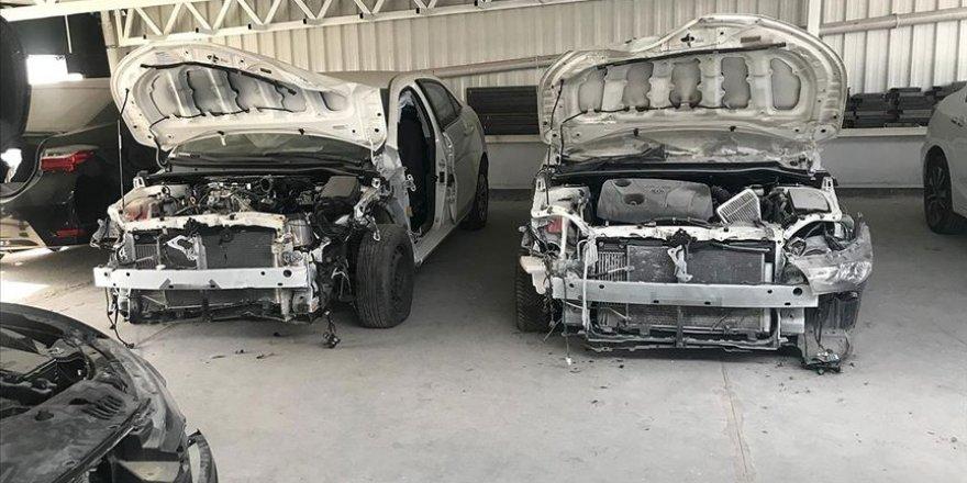 Başkent'te 'change otomobil' operasyonunda 5 gözaltı