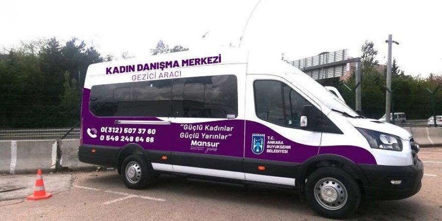Ankara Büyükşehir'den kadın sağlığı için 'gezici araç'