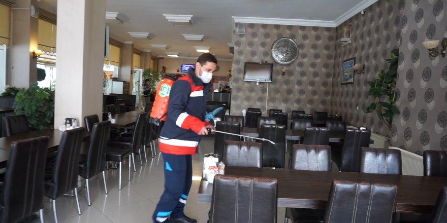 Pursaklar Belediyesi işletmeleri normalleşmeye hazırladı