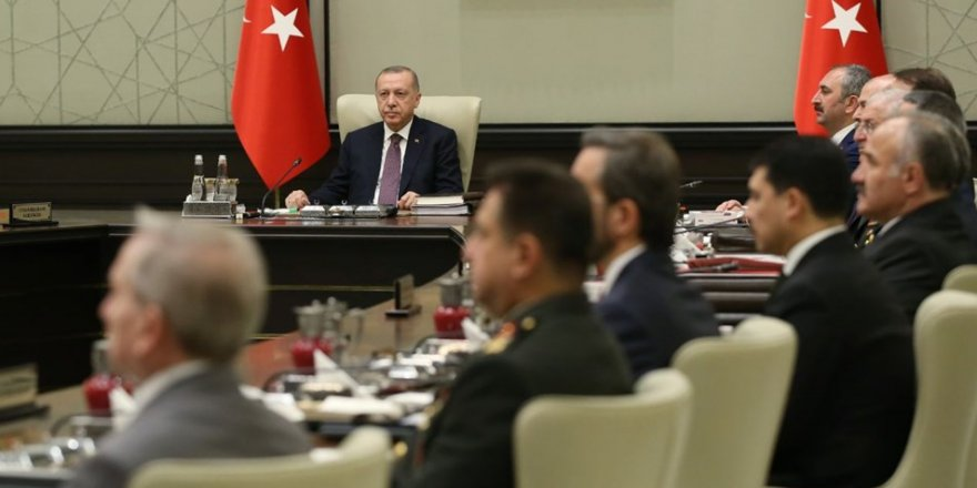 MGK Cumhurbaşkanı Erdoğan başkanlığında toplandı