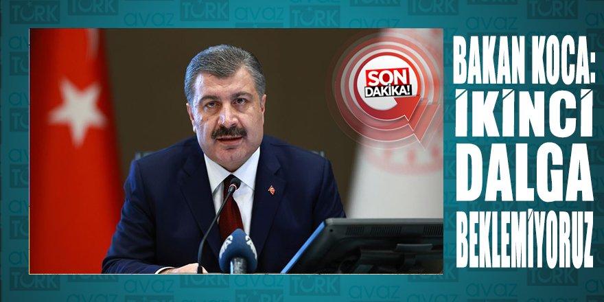 Sağlık Bakanı Koca'dan önemli açıklamalar: İkinci dalga beklemiyoruz