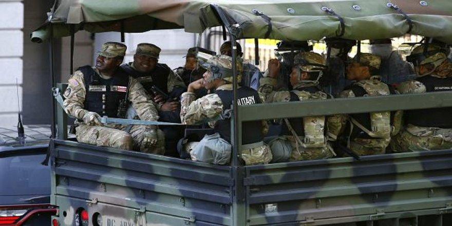Washington DC yakınlarına konuşlandırılan askerler geri çekiyor