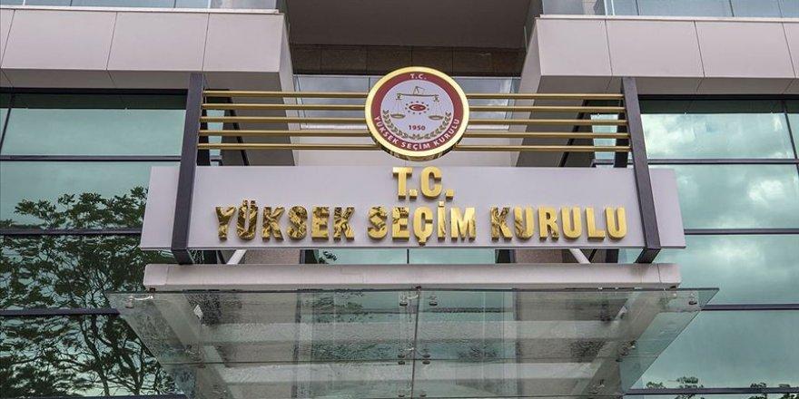 YSK'dan siyasi parti kongreleriyle oda ve sendika seçimlerine dair FLAŞ KARAR