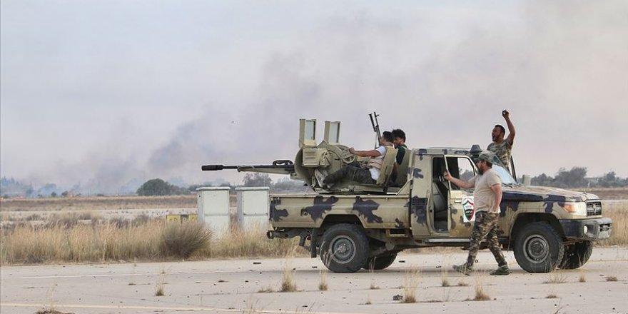 Başkent'in Ayn Zara ve Vadi er-Rebi bölgelerinde kontrol Libya ordusuna geçti