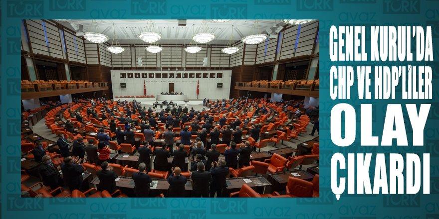 TBMM Genel Kurulunda CHP ve HDP'lilerin milletvekilliklerinin düşürülmesi gerginliği