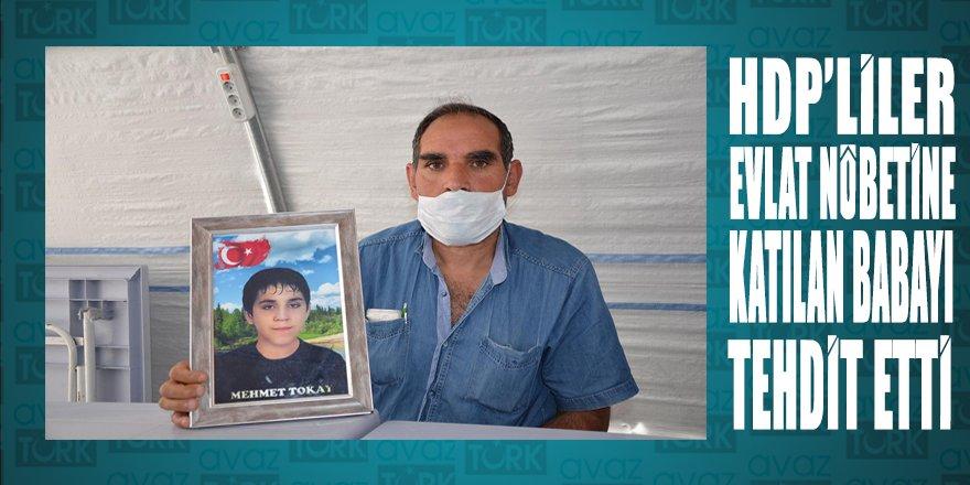 HDP'liler 'evlat nöbeti'ndeki babanın evine gidip fotoğrafını çekip tehdit etti