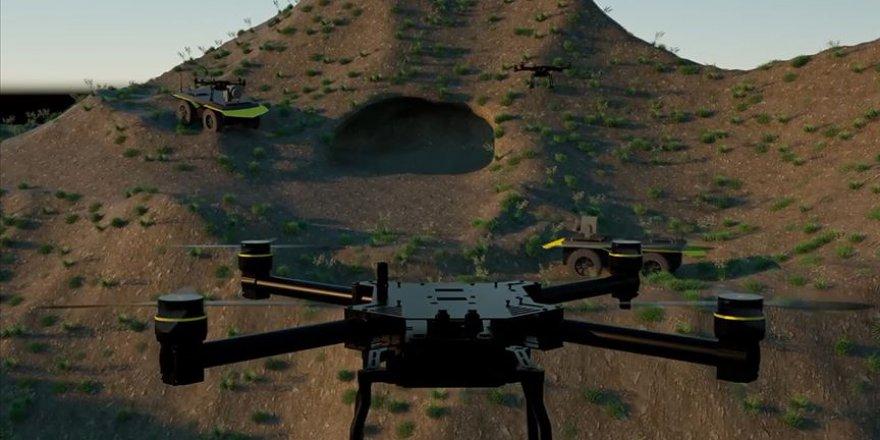 Savunma Sanayii'nde Yetenekli Robot Sürüleri projesi heyecanı