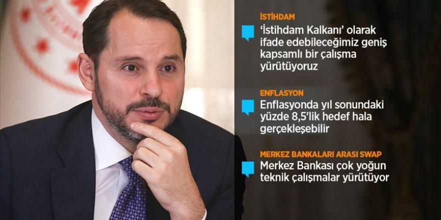 Bakan Albayrak'tan ekonomiye dair önemli açıklamalar