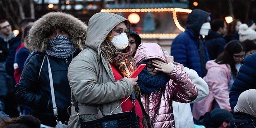 Fransa'da son 24 saatte Kovid-19'dan 46 kişi hayatını kaybetti