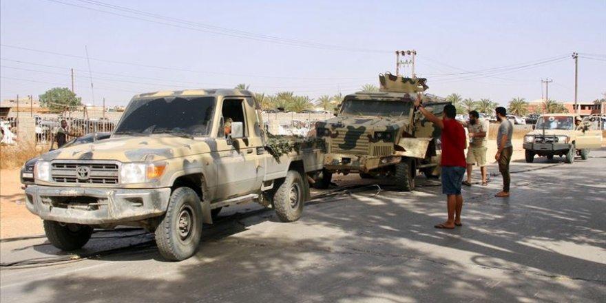Bir belde daha Libya ordusu kontrolüne geçti
