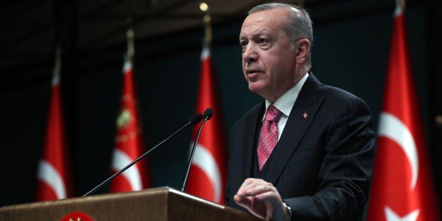 Cumhurbaşkanı Erdoğan çeşitli yatırımlar için düzenlenen törende konuştu