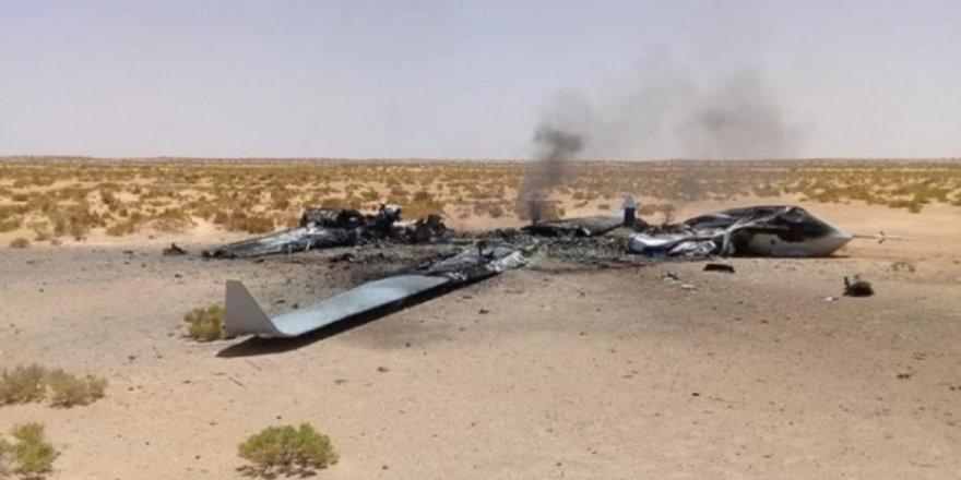 Sirte'de BAE'ye ait SİHA Libya Ordusutarafındandüşürüldü