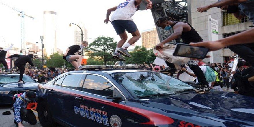ABD'yi saran 'George Floyd' protestoları 12. gününde